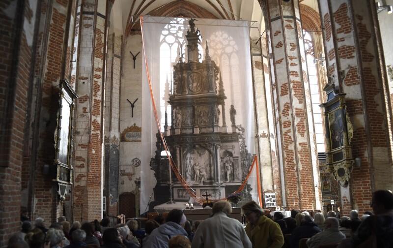 Wnętrze kościoła św. Jana
