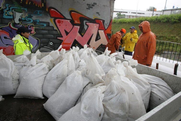 Gdańsk gotowy do ulewy: worki z piaskiem dla mieszkańców są przygotowane do odbioru