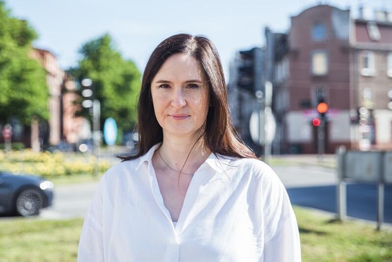 Halina Królczyk - przewodnicząca zarządu Rady Dzielnicy Wrzeszcz Dolny