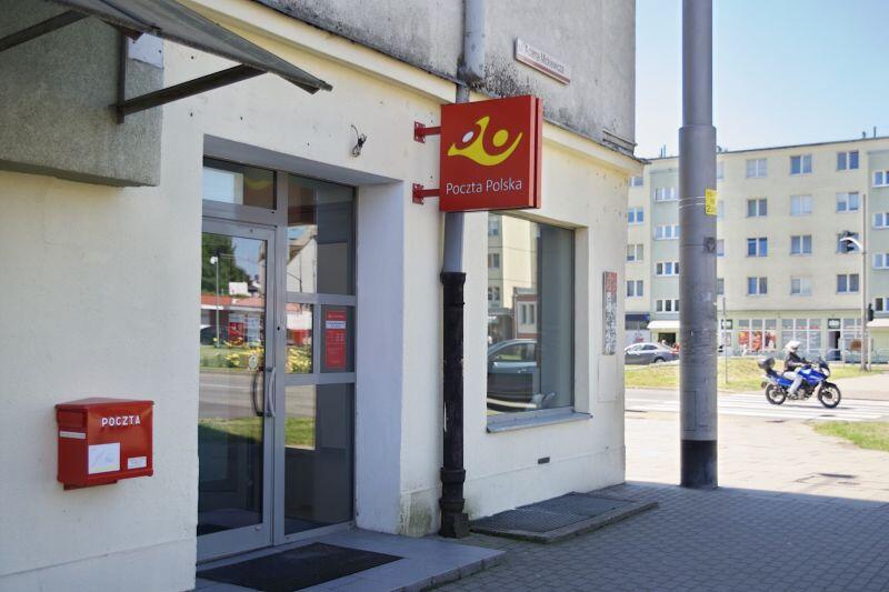 W tym lokalu przy ul. Mickiewicza 1/3 będzie działać urząd pocztowy