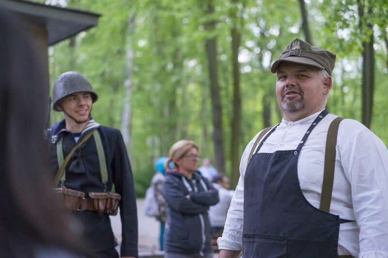 Na Westerplatte jest codziennie. Wojciech Minczykow operator przy Wartowni nr 1