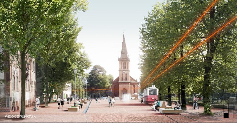 I nagroda w konkursie na opracowanie koncepcji urbanistyczno-architektonicznej zagospodarowania przestrzeni publicznej Rynku Oruńskiego