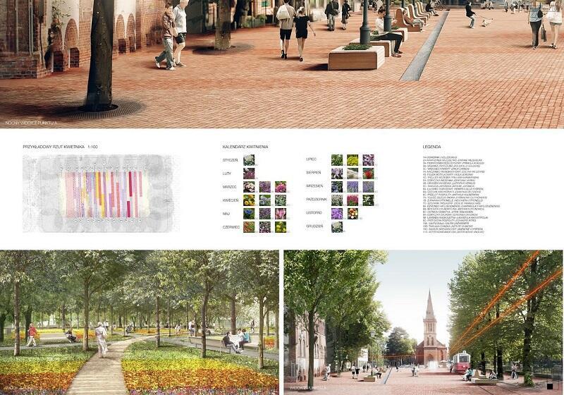 Jurorzy docenili zwycięzców z pracowni Studiomania za nadanie projektowanej przestrzeń klimatu małego placu rynkowego na przedmieściu, na którym łatwo będzie można zmienić aranżację i dostosować ją do bieżących potrzeb