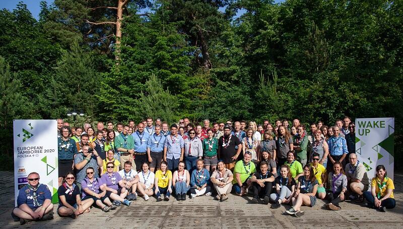 Jedno ze spotkań organizacyjnych szefów kontyngentów narodowych przed Europejskim Jamboree 2020, odbyło się w dniach 14-16 czerwca 2019 r. oczywiście na Wyspie Sobieszewskiej