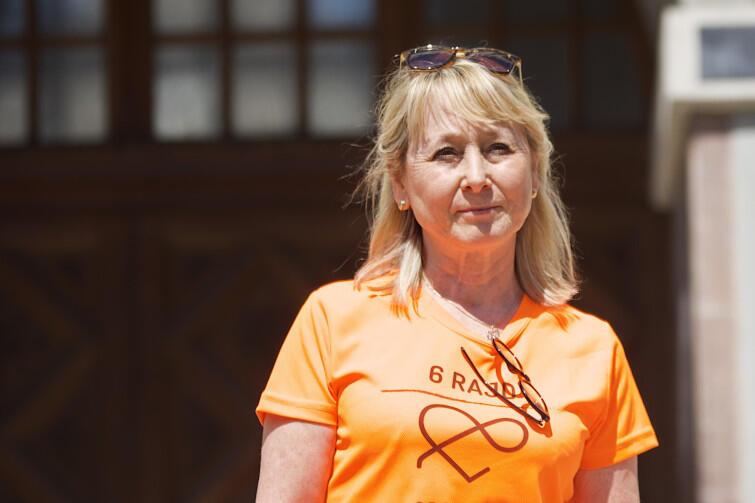 """Jolanta Sternau-Kruczkowska, założycielka Fundacji im. Bartka Kruczkowskiego """"Organiści"""". Jej syn, Bartek, miał 26 lat, kiedy 28 listopada 2010 r. doszło do tragicznego wypadku w Londynie. Jego organy uratowały życie sześciu osobom"""