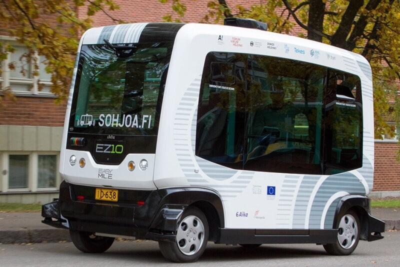 Tak wyglądają autonomiczne busy EZ10, produkowane przez firmę Easymile. Jeden z nich będzie we wrześniu woził pasażerów w Oliwie