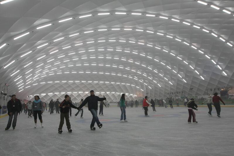 Miasto przygotowuje się do budowy całorocznego lodowiska