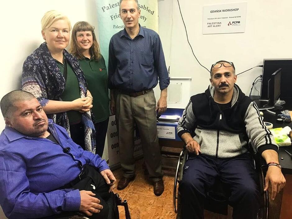 Ponad 10 tys. zł zebrali gdańszczanie w ramach zbiórek Palestyna Art Alert. Pieniądze przekazano Stowarzyszeniu Przyjaciół Osób z Niepełnosprawnością w Betlejem