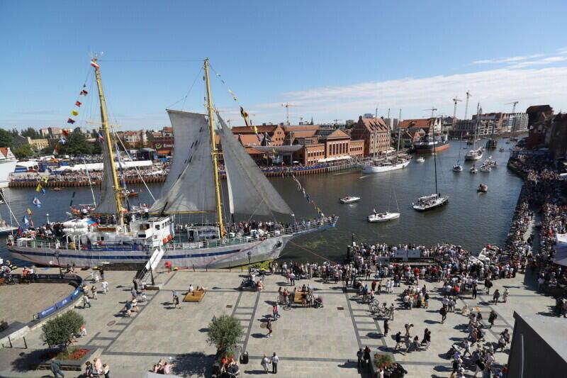 Na jeden lipcowy weekend Gdańsk opanowują piękne żaglowce