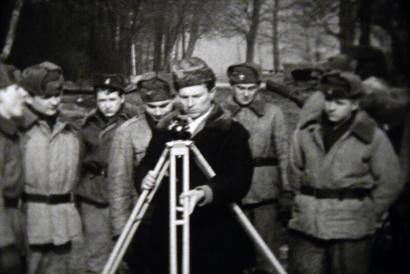 Rok 1967, czas ratowania Wartowni nr 1 na Westerplatte. W akcji inż. Aleksander Ślusarz