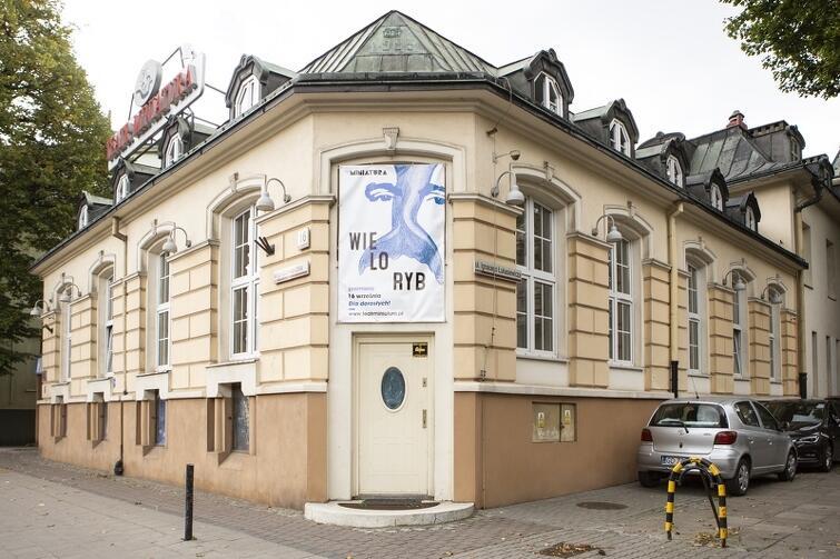 Siedziba Miejskiego Teatru Miniatura mieści się przy ul. Grunwaldzkiej