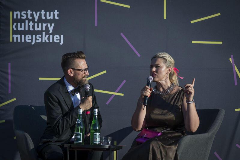 O operze opowiadali Jerzy Snakowski i Katarzyna Hołysz