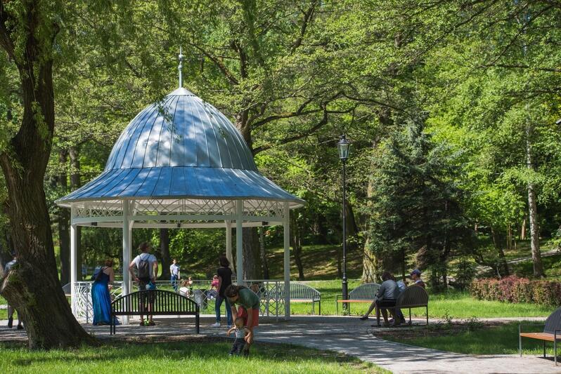Altana w Parku Oruńskim - jedno z trzech miejsc, gdzie organizowane są ceremonie ślubne