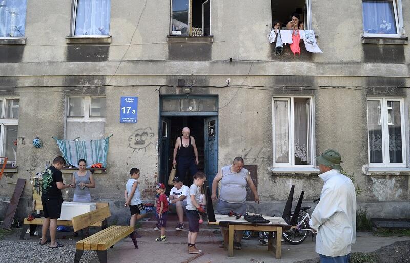 W prace projektowe i budowlane zaangażowane były wszystkie pokolenia sąsiadów z ul. Strajku Dokerów