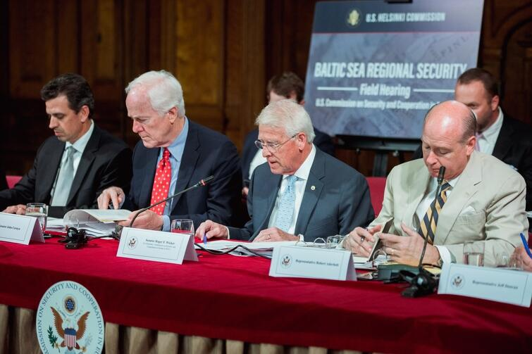 Podczas obrad Komisji Bezpieczeństwa i Współpracy w Europie, tym razem nie w USA, ale w Gdańsku, w Dworze Artusa