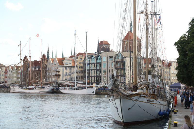 Żaglowce, które już dotarły na tegoroczny Baltic Sail
