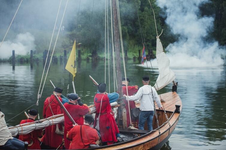 W sobotę zainscenizowano bitwę, która rozegrała się pod Twierdzą Wisłoujście w 1577 r.