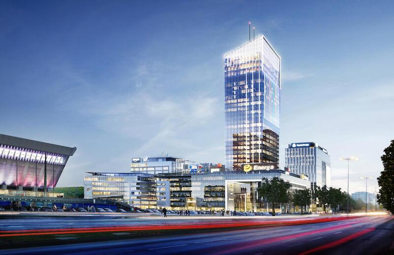 Olivia Star jest częścią Olivia Business Centre. Wieżowiec liczy 35. pięter, jego wysokość całkowita to 180 metrów, co daje mu miano najwyższego budynku w Polsce Północnej