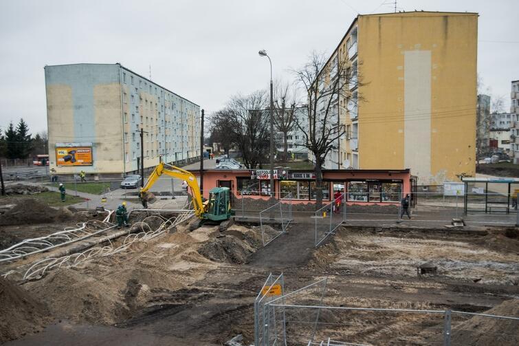 Najbardziej skomplikowane prace wciąż trwają przy ul. Stryjewskiego