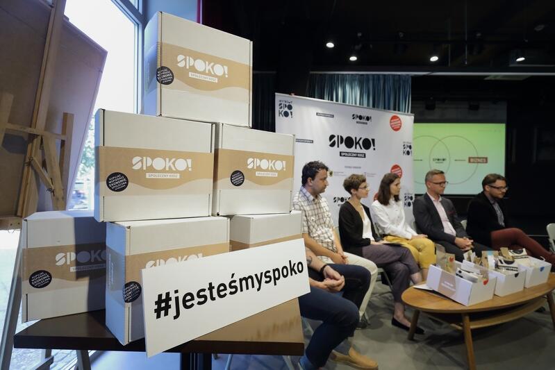 Konferencja inaugurująca projekt SPOKO Społeczny Kosz odbyła się 11 lipca w Oliwskim Ratuszu Kultury