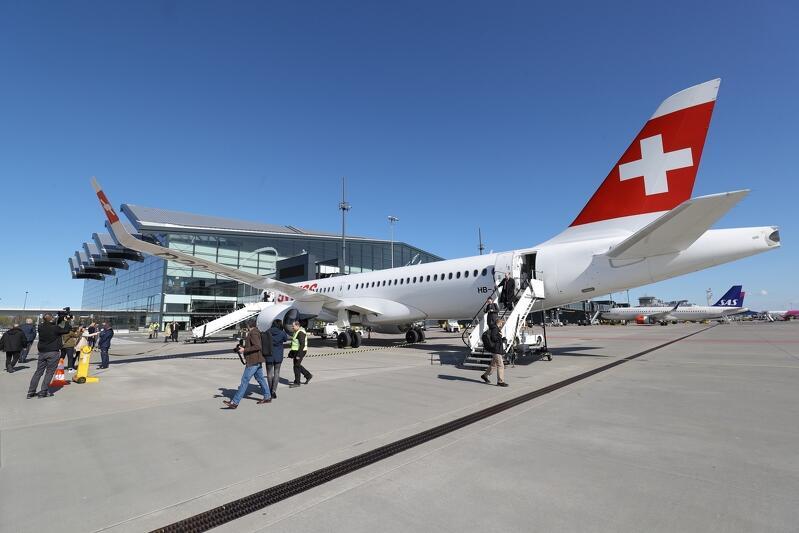 W kwietniu linia Swiss zainaugurowała połączenie Zurich - Gdańsk