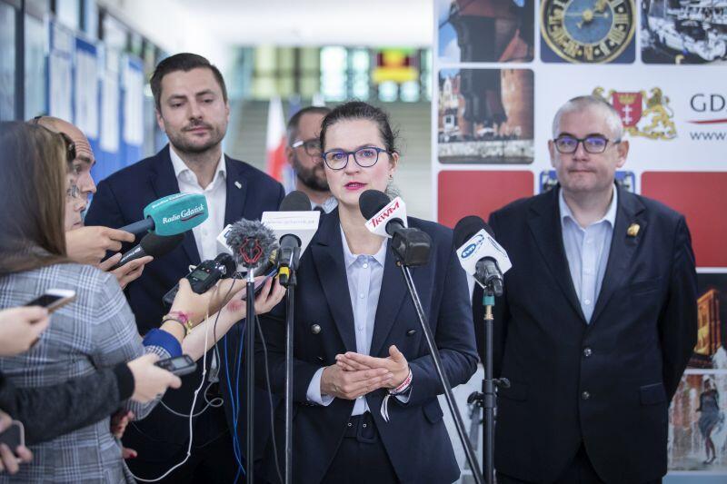 Prezydent Gdańska Aleksandra Dulkiewicz: - Chyba dawno polska edukacja nie była w tak wielkim kryzysie.