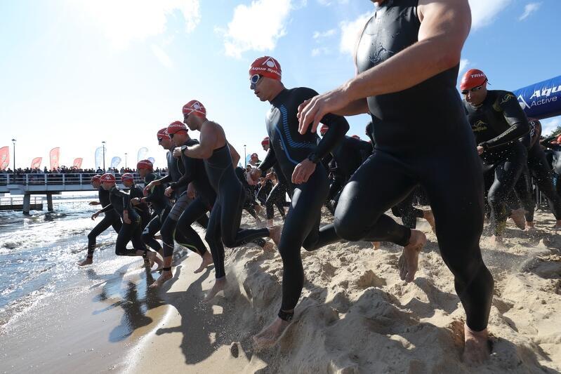 Pływanie - pierwsza konkurencja triathlonu