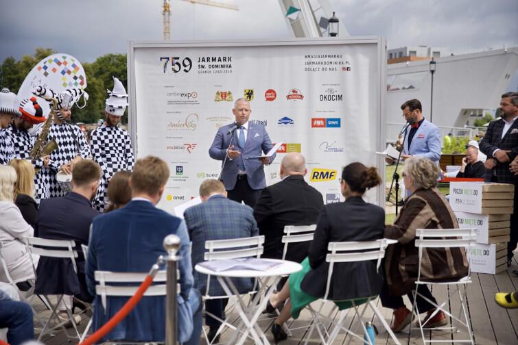 Prezes MTG Andrzej Bojanowski opowiedział o odświeżonej formule Jarmarku: nowych przestrzeniach, stoiskach i wydarzeniach towarzyszących