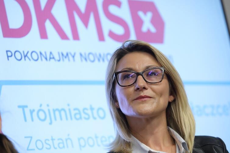 Dawczyni Katarzyna Szczuka. Jest jedną z osób w bazie Fundacji DKMS, która już od ponad 10. lat pomaga chorym na nowotwory krwi na całym świecie