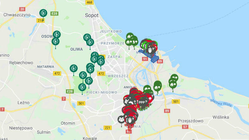 mapa brg