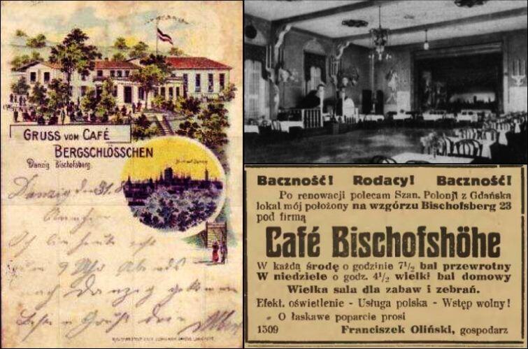 Jak wyglądała dawna restauracja? Niestety zachowała się niewiele zdjęć czy rycin