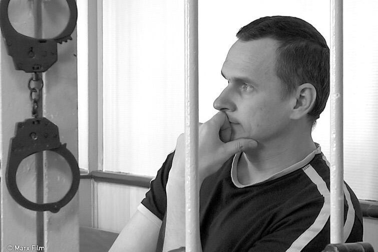 Kadr zfilmu PROCES. FEDERACJA ROSYJSKA KONTRA OLEG SENCOW, reż. Askold Kurov