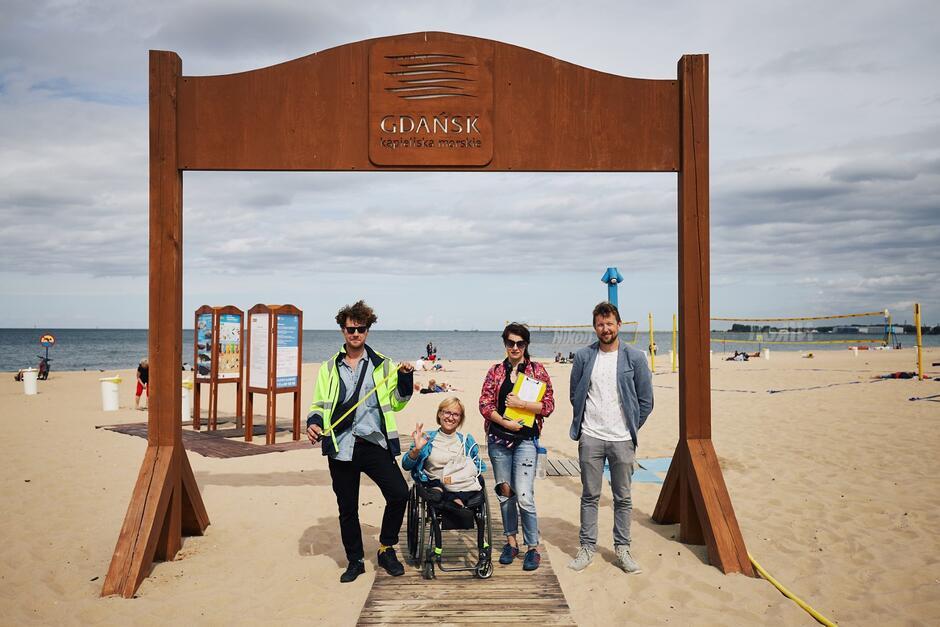 W Gdańsku powstanie do 2020 roku pierwsza w Polsce w pełni dostępna plaża