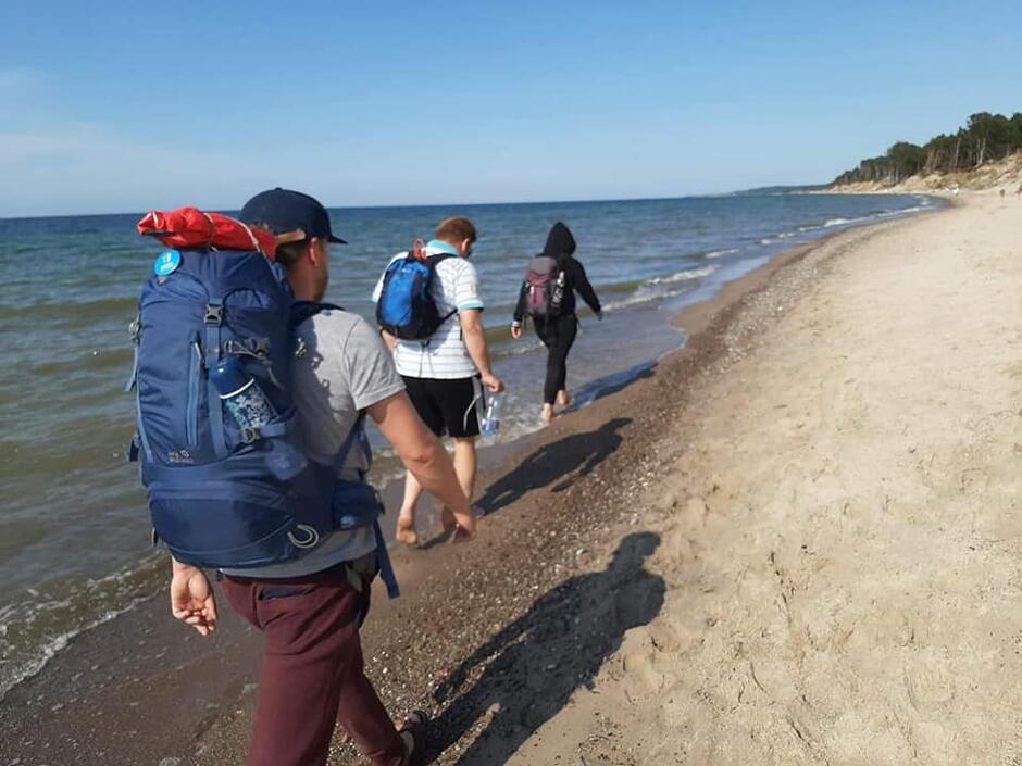 Sztafety pokonują trasę wzdłuż polskiego Bałtyku od 1 lipca. Wyruszyli ze Świnoujścia, a w Gdańsku będą 26 lipca