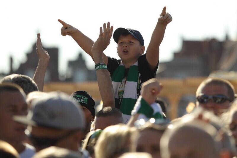 Podczas prezentacji Lechii na Ołowiance było około 3 tysięcy kibiców, na meczu eliminacji Ligi Europy z Brøndby IF Kopenhaga ma być dziesięć razy więcej