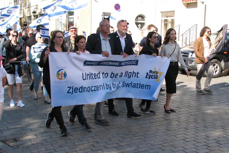 Marsz Życia, który odbył się 7 lipca br. w Kielcach dedykowany był relacjom polsko - żydowskim. 1 września taki marsz, poświęcony jednak relacjom polsko - niemieckim, przejdzie ulicami Gdańska