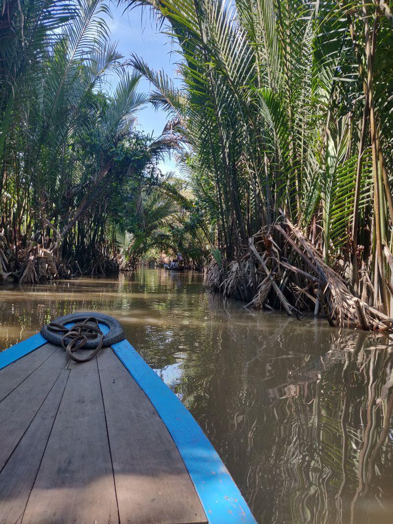 Wycieczka po delcie Mekongu, Wietnam