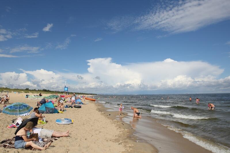 Plaża Sobieszewo w Gdańsku