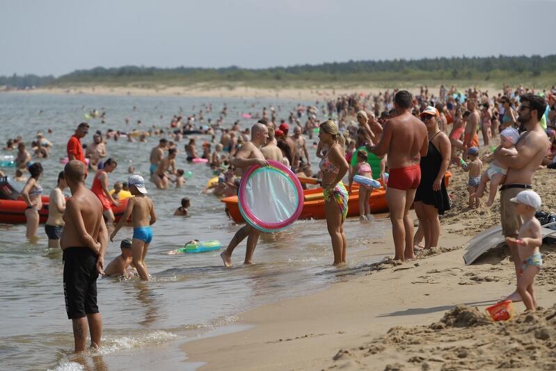Plaża na Stogach w Gdańsku