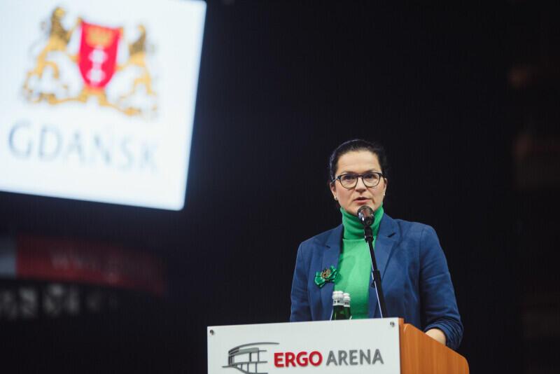 """O nadanie nazwy """"Rondo 4 Czerwca 1989 r."""" wnioskowała prezydent Aleksandra Dulkiewicz"""