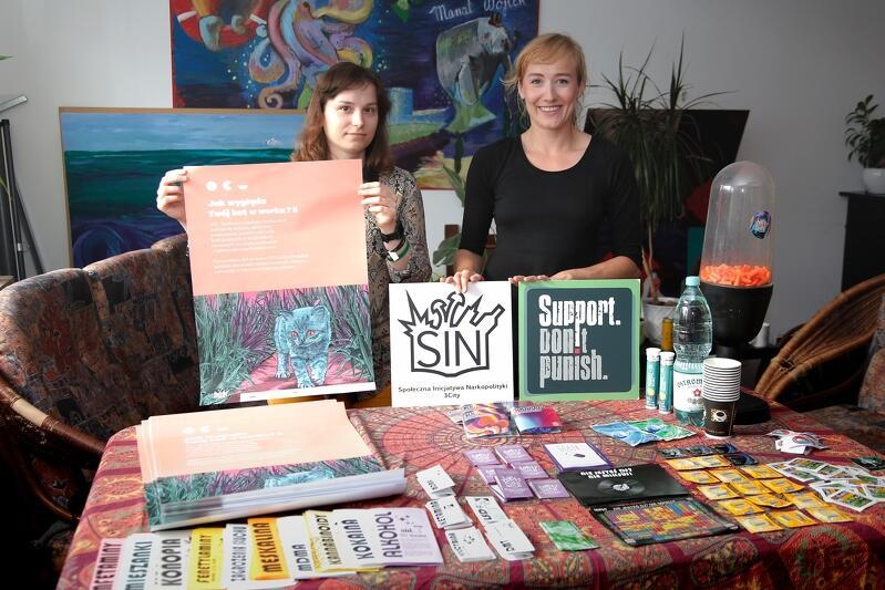 Katarzyna Smukowska i Arleta Łatkowska - koordynatorki Trójmiejskiego Oddziału Społecznej Inicjatywy Narkopolityki SIN 3City