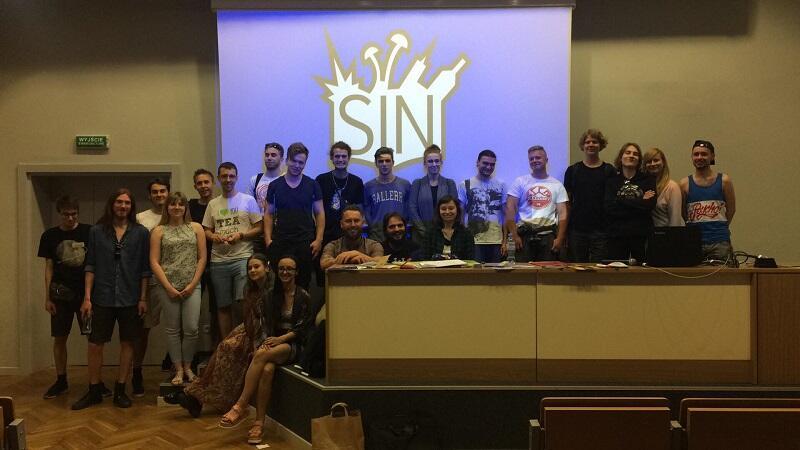 Ekipa wolontariuszy edukatorów SIN 3City po czerwcowym szkoleniu