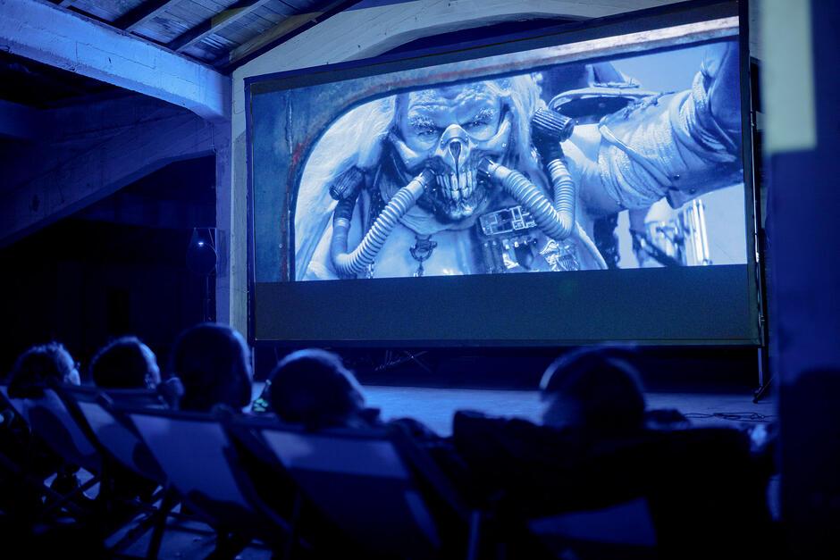 Jeden z seansów ubiegłorocznej edycji Octopus Film Festival