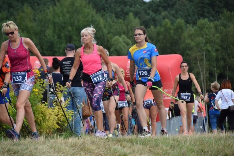 Konkurencja była ostra, co świadczy jak popularnym sportem staje się nordic walking