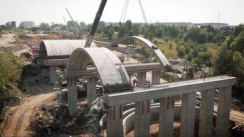 W Gdańsku powstaje tzw. wiadukt wenecki