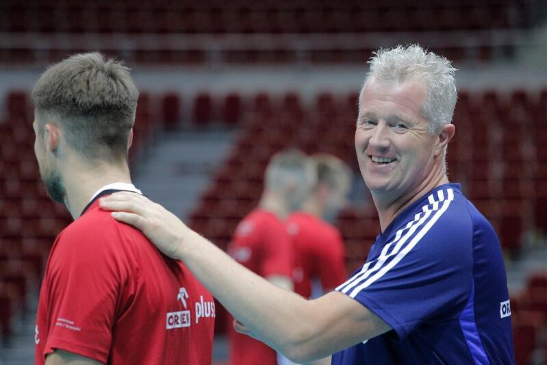 Belg Vital Heynen rok temu doprowadził polskich siatkarzy do tytułu mistrza świata. Czy doprowadzi do olimpijskiego złota? Droga do niego prowadzi m.in. przez Gdańsk