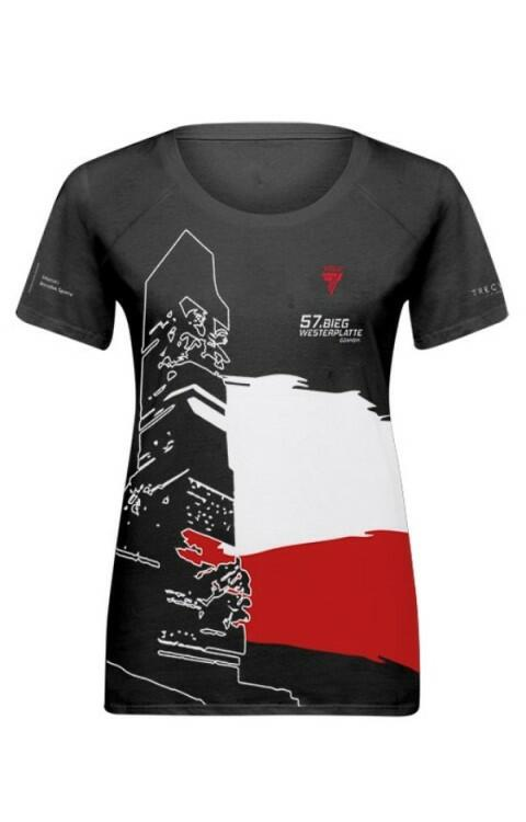 57. Bieg Westerplatte. Koszulka damska