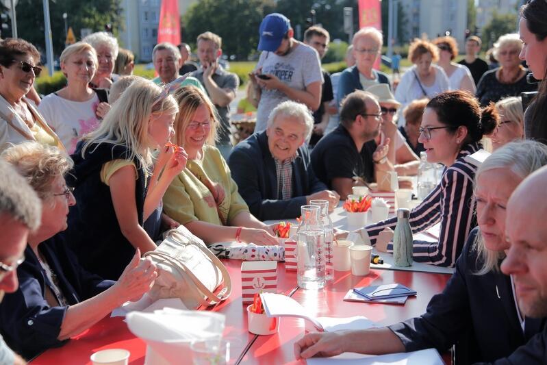 Podczas spotkania na Przymorzu Wielkim odbyło się wiele merytorycznych rozmów