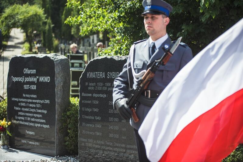 Organizatorem uroczystości jest Miasto Gdańsk, Stowarzyszenie Rodzina Katyńska w Gdańsku oraz Związek Sybiraków Oddział Gdańsk