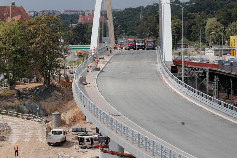 We wtorek, 13 sierpnia, wiadukt Biskupia Górka, zostanie udostępniony kierowcom i pieszym